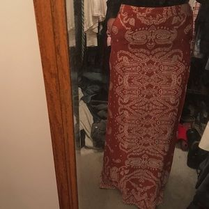 Long Maxi skirt Urban Outfitters
